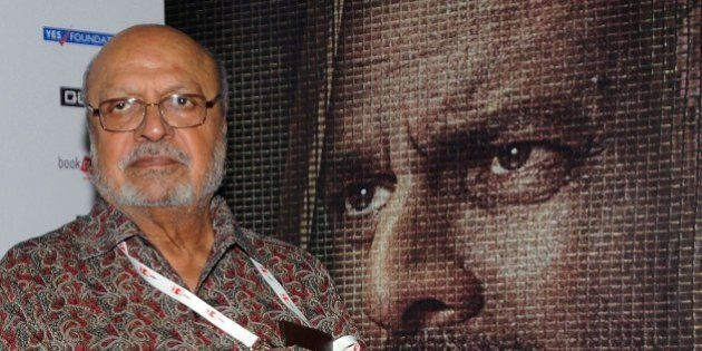 Indian Bollywood director and screenwriter Shyam Benegal attends the special screening of National Award...