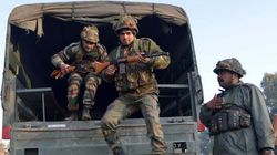 Security Forces Launch Fierce Offensive Against 2 Militants Holed Up In Pathankot IAF