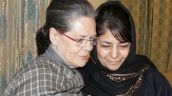 Sonia Gandhi, Nitin Gadkari Meet Mehbooba Mufti, Increase Suspense Over J&K Govt