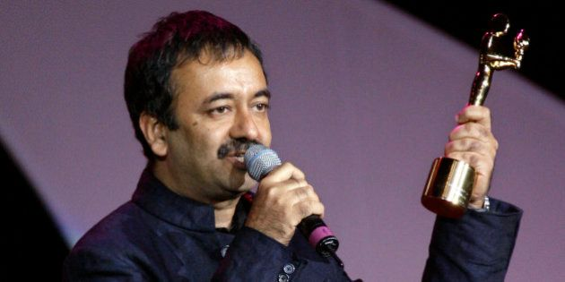Rajkumar Hirani makes his acceptance speech after receiving the Best Director award at the 9th annual...