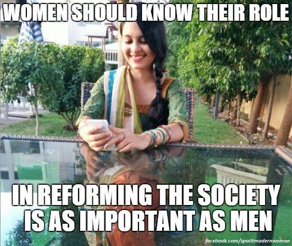 PHOTOS: Here's How You Break The 'Spoilt Modern Indian Women'