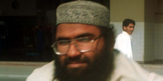 Maulana Masood Azhar, Muslim cleric and leader of the militant group fighting in Indian-held Kashmir...
