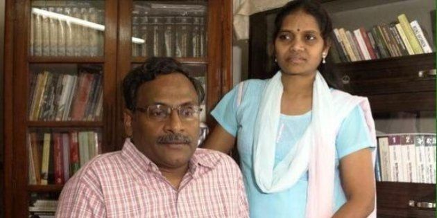 Imprisoned DU Professor GN Saibaba Fears Losing His Hand Due To Lack Of