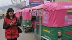 These Special Pink And Orange Autos In Mumbai Are For Women And By