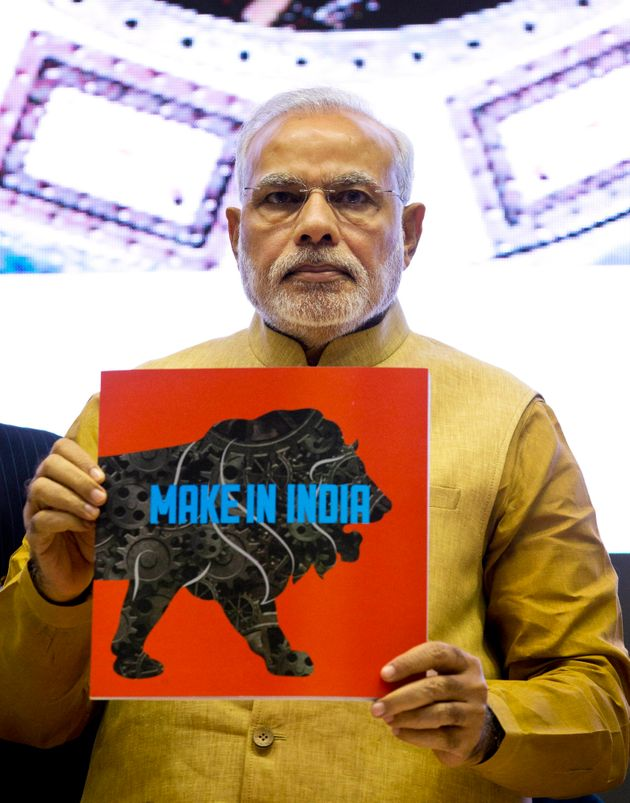 'Make In India' Logo Designed By Foreign