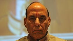 Rajnath Singh Meets Parrikar, Doval To Discuss Internal Security
