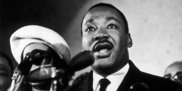 UNSPECIFIED - JANUARY 02: The Reverend Martin Luther King Jr., Leader Of The Civil Rights Movement, Giving...