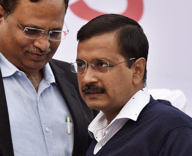 Ink Attack On Arvind Kejriwal At Odd-Even 'Thanksgiving' Rally Sparks Political War Of