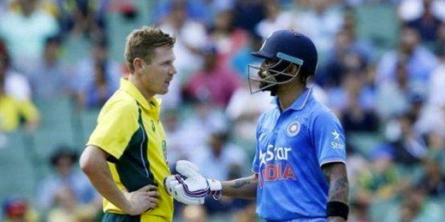 WATCH: Virat Kohli Shuts Down Australia's James Faulkner In The Most Epic