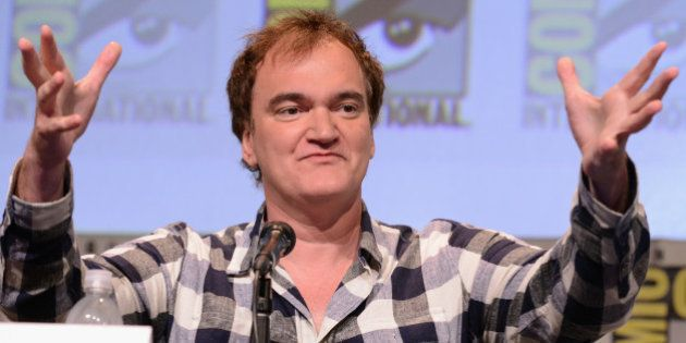 SAN DIEGO, CA - JULY 11: Writer/director Quentin Tarantino speaks onstage at Quentin Tarantino's 'The...