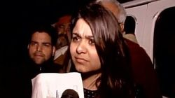 Woman Who Threw Ink At Kejriwal Sent To One Day Police