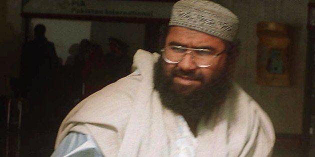 Maulana Masood Azhar, a Pakistani religious leader of a Islamic militant group fighting against Indian...