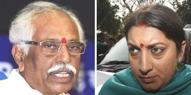 Dalit Scholar Suicide: BJP Rejects Demand For Axing Smriti Irani, Bandaru
