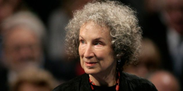 Canadian writer Margaret Atwood arrives for the 2008 Prince of Asturias award ceremony in Oviedo, northern...