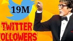 Big B Is Now The First Bollywood Star To Have 19 Million Twitter