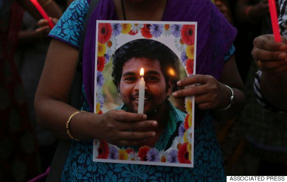 Rohith Vemula Suicide: Protestors Want All The 4 Dalit Students' Suspension Unconditionally