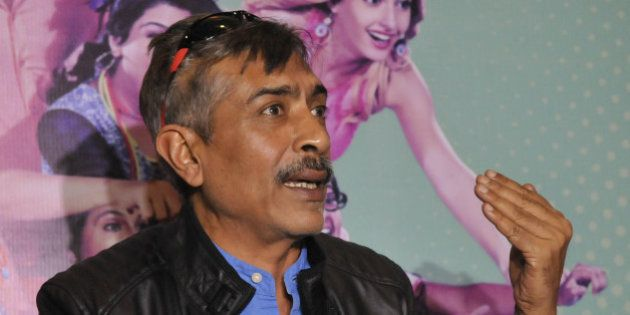 BHOPAL, INDIA - DECEMBER 28: Bollywood producer Prakash Jha addressing a press conference for the promotion...