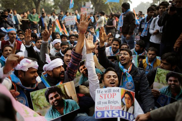 Rohith Vemula's Father Claims Son Was Murdered, Suicide Note Not Written By