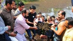 District Collector Gets Lake In Kozhikode Cleaned Up With The Help Of