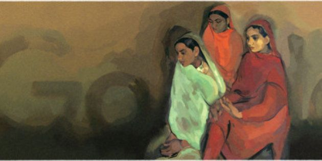 Google Honours Artist Amrita Sher-Gil On Her 103rd Birth Anniversary With A 'Three Girls'