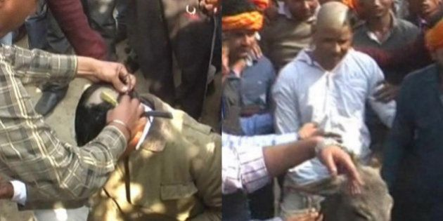 Bajrang Dal Activists Shave Man's Head, Parade Him On Donkey For Alleged Religious