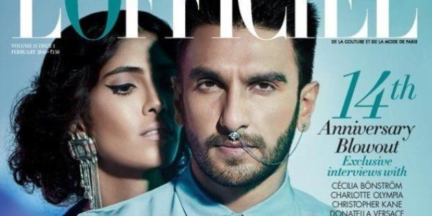 L'Officiel Cover With Ranveer Singh Is Sexy (And He Knows