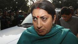 Rahul Gandhi Is Using Students As Political Fodder To Take Revenge, Says Smriti