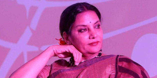 NEW DELHI, INDIA - AUGUST 19: Bollywood actor Shabana Azmi during the launch of a music video, Phool...