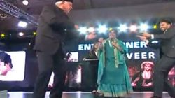 WATCH: Ranveer Singh And Farooq Abdullah Match Steps At An Award