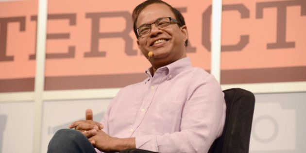 AUSTIN, TX - MARCH 10: Amit Singhal, SVP and software engineer at Google Inc. speaks onstage at the Andy...