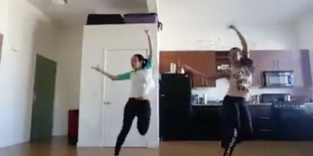 WATCH: Twin Sisters Show How To Perfectly Fuse Classical Bharatnatyam With