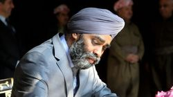 Canada's Sikh Defence Minister Heckled With Racist Remarks In