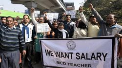 MCD Workers Warn Delhi Government As Their Strike Enters Day