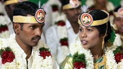 Check Out The Amma Tiara: AIADMK Supporters Gifted This Unbelievable Headgear To Newlyweds In