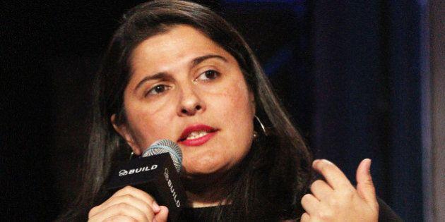 NEW YORK, NY - NOVEMBER 04: Sharmeen Obaid-Chinoy attends AOL BUILD Presents: Sharmeen Obaid-Chinoy And...