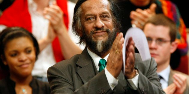 Rajendra K. Pachauri, Chairman of the U.N. Intergovernmental Panel on Climate Change who shared the 2007...