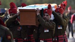 Citizens Pay Homage To Siachen Braveheart Before Last