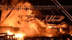 Probe Into 'Make In India' Stage Fire To Include Sabotage