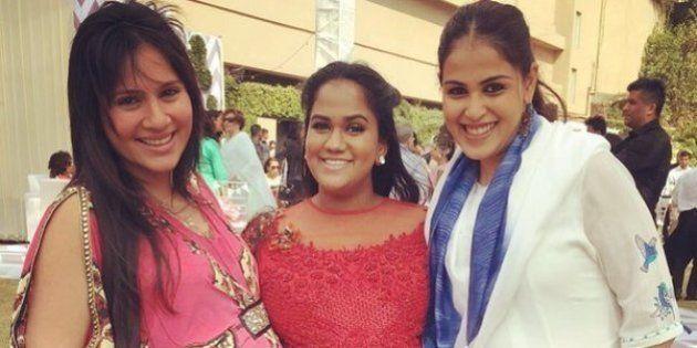 PICS: Arpita Khan Celebrates Her Baby Shower On Valentine's