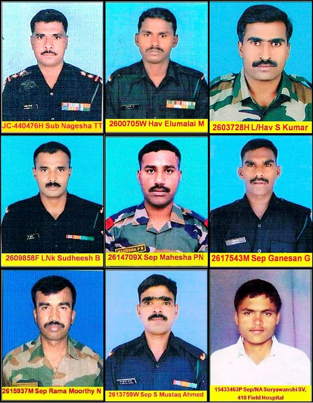 Nation Says Goodbye To 9 Bravehearts Who Lost Their Lives In Siachen