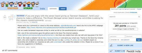 Three Redditors Start #SaveOurCinema, A Campaign To Help Revamp The Censor