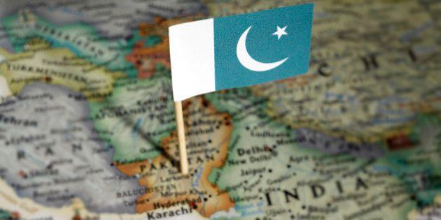 Pakistan flag in