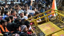 JNU Erupts With Competing Protests Over Free Speech And