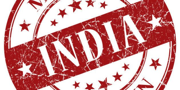 Made In India red