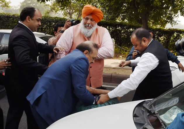 WATCH: BJP's OP Sharma Says He's Not Sorry, Will Assault Anyone Who Insults 'Mother