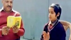 This Blind Seven-Year-Old Muslim Girl Can Recite The Bhagwad Gita By