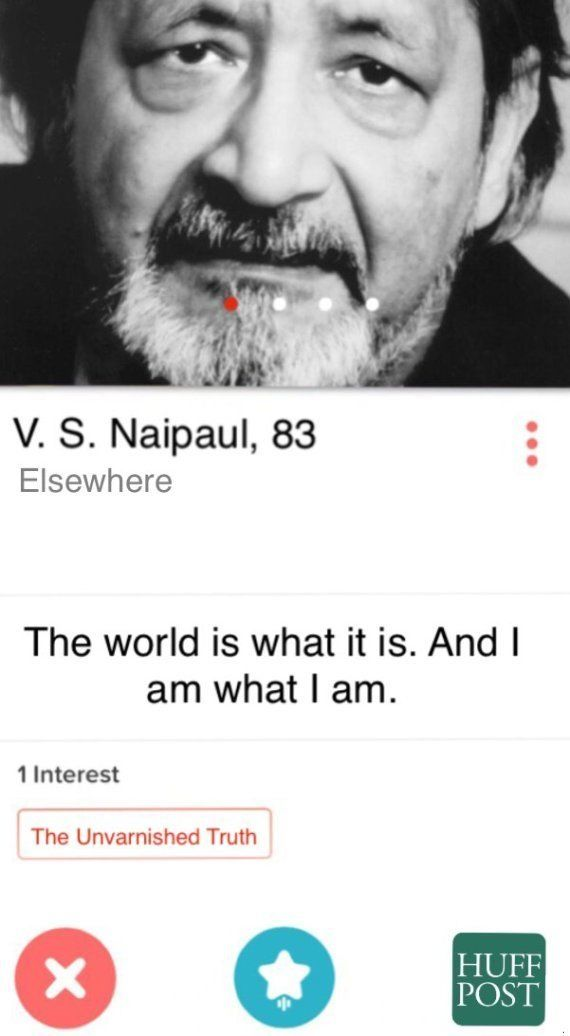 12 Tinder Profiles Of Indian Writers You Might Like To Swipe Right
