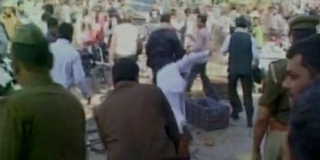 PM Modi Faces Protest In BHU, Student Gets Beaten Up By Alleged BJP Workers For Shouting