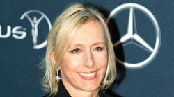 You're Nasty: Tennis Legend Martina Navratilova Runs Into Indian
