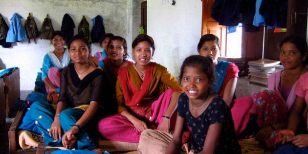 All the girls in the hostel are rescued ex-kamalaris (bonded child labourers). It's remote, and a 1 hour...